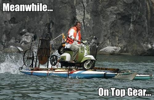 Meanwhile on Top Gear...