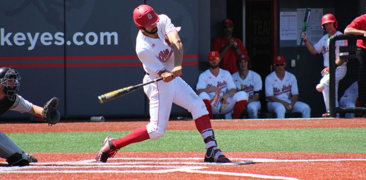 The Ohio State baseball team topped Rutgers, 2-1, to claim a B1G series victory Sunday afternoon at a sun-splashed Nick Swisher Field at Bill Davis Stadium.
