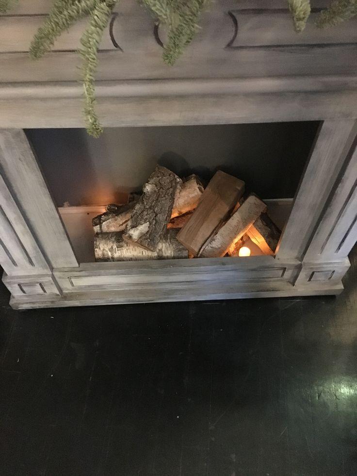 Ild i pejsen