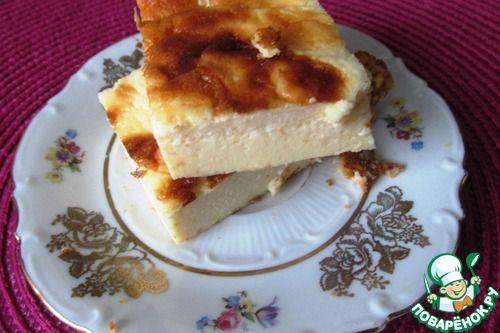 Воздушная запеканка-суфле - кулинарный рецепт