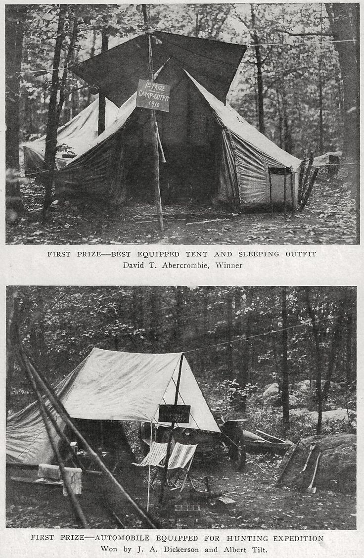 Short history lesson and awesome old photos... Camp-Fire ...