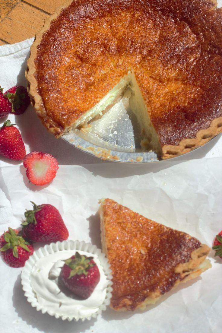 Southern Buttermilk Pie.