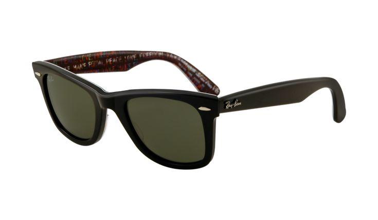 Original Wayfarer Top Black On Texture  / G-15 XLT