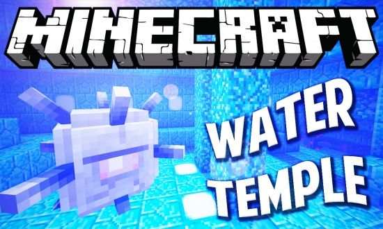 Minecraft 1.8 Seed - Water Temple!!! - Minecraft Seeds
