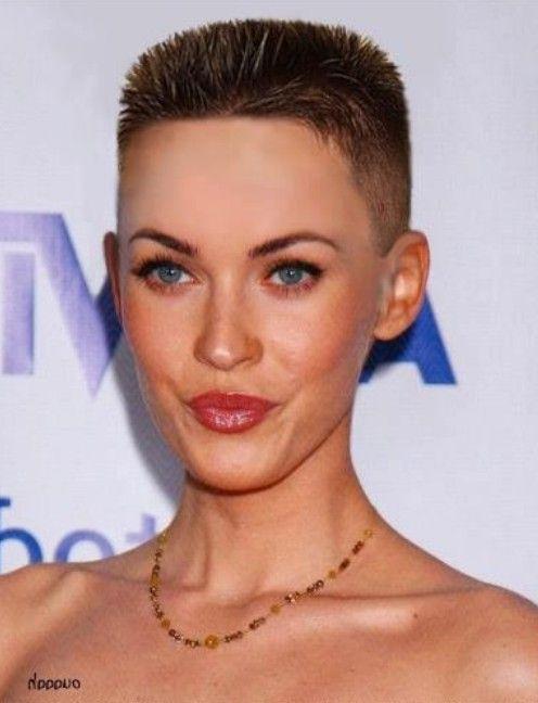 Very Short Flat-top Haircut for Women