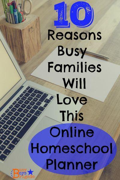 HOMESCHOOL ONLINE PLANNER--10 Reasons Busy Families Will Lovve Homeschool Planet by Homeschool Buyers Co-op.  ONE MONTH FREE TRIAL!  #ihsnet #HSBuyersCoop
