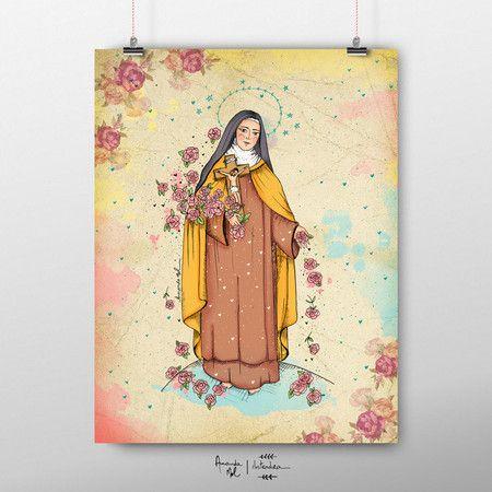 Cartaz Santa Terezinha