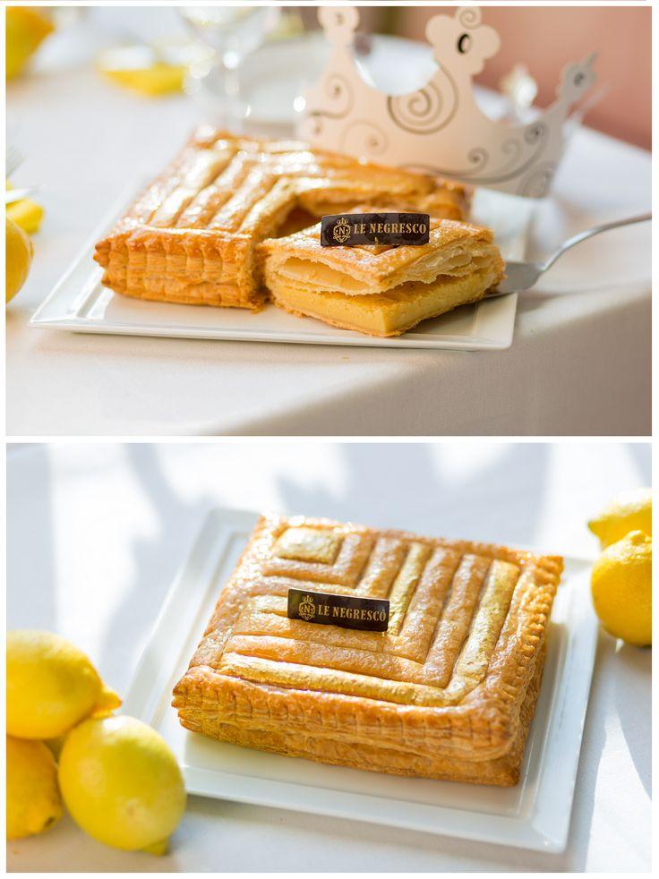 La galette des rois 2017 du Chef pâtissier Fabrice Didier est dès à présent disponible sur Deliveroo à Nice. Sa recette gourmande mêle des éclats de noisette torréfiées et de la bergamote dans une frangipane d'exception.