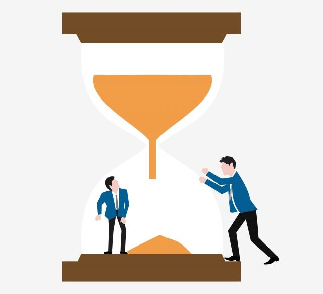 Time Management Hourglass Business Business Person Hourglass Clipart Workplace Business Man Png Transparent Clipart Image And Psd File For Free Download Business Person Blue Logo Design Time Management