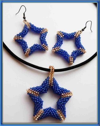 Star | biser.info - all about beads and bead work