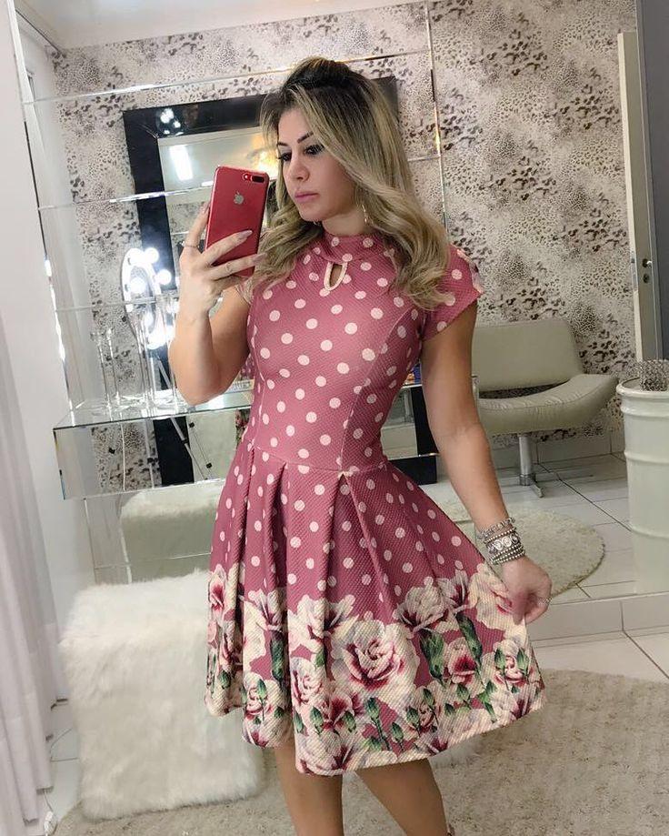 "33 Likes, 2 Comments - Flor&bella Store (@floribella.store) on Instagram: ""Apaixonada por esse dress estilo Ladylike. ❤️ . . Disponível para pedidos️ Tamanhos: P, M e G.…"""