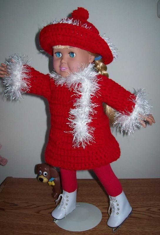 439 best American Girl Doll Crochet Patterns images on Pinterest ...