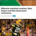 cool Dom Capers is an offensive coach. Makes sense now.