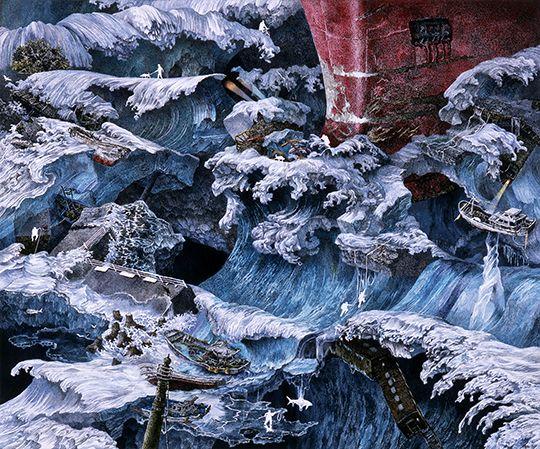 池田学 / IKEDA Manabu:氷流(予兆より) / Ice Stream(episode from Foretoken)
