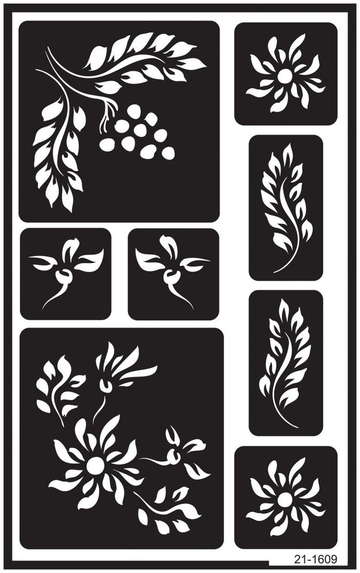 Over 39 n 39 over reusable glass etching stencils 5 x8 amazon for Glass etching templates for free