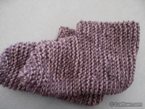 Easy Knitting Ideas For Adults : Quick n easy adult booties knit pattern knitting