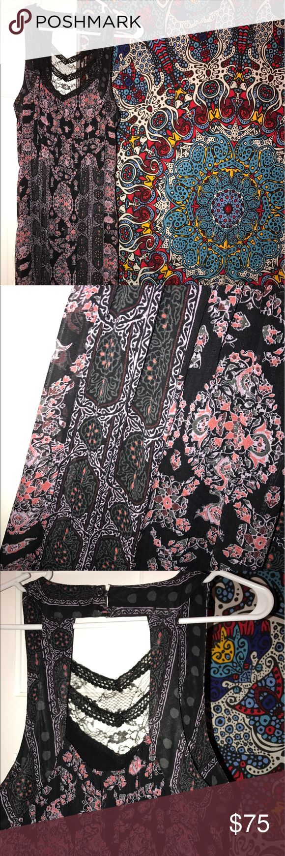 Free People Maxi Dress Very comfortable and flattering Free People Dresses Maxi