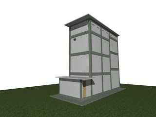 Dunia Cara Ternak Hewan - Peluang Usaha Sampingan: Model Kandang Rumah Burung Walet ternakan