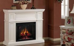 Electric Fireplaces Lowes Small Electric Fireplace On Custom Fireplace. Quality Electric