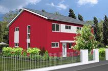 Große Auswahl an Doppelhäusern, vollmassiv und schlüsselfertig.