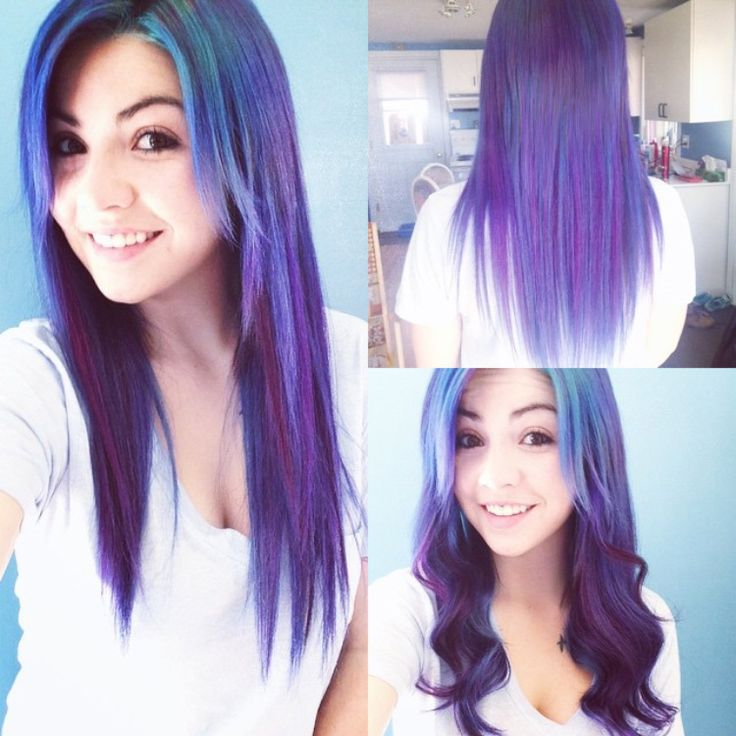 265 best hair color colored extensions images on pinterest long purple hair color with highlight amazing diy dye hair color choice pmusecretfo Choice Image