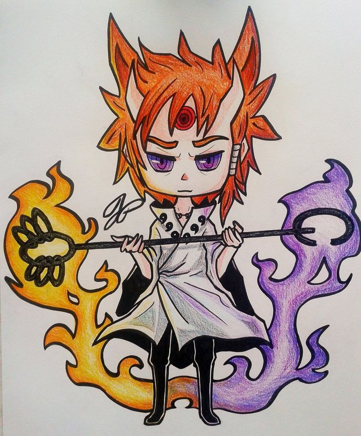 Otsutsuki Hagoromo - Rikudou Sennin by Greefeeny on DeviantArt