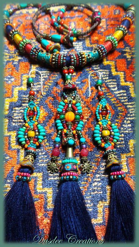 Bohemian Gypsy Handcraft Jewelry