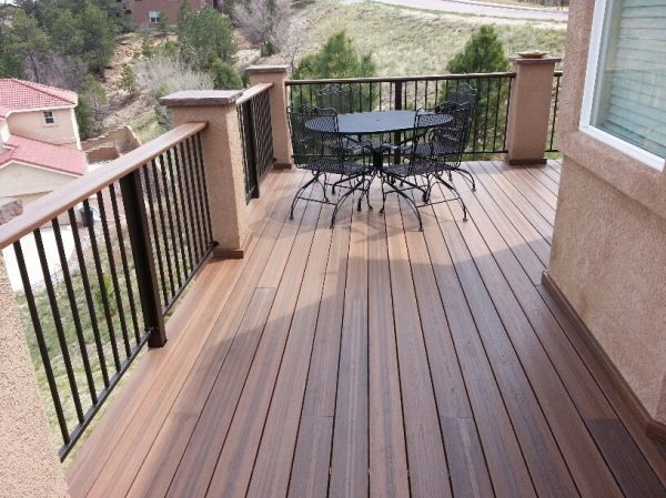 48 best decks images on pinterest cottage balconies and for Envision decking