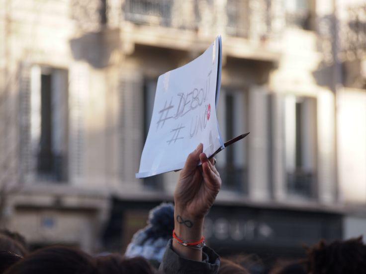 #jesuischarlie #debout #paris pic by a.vannoorenberghe