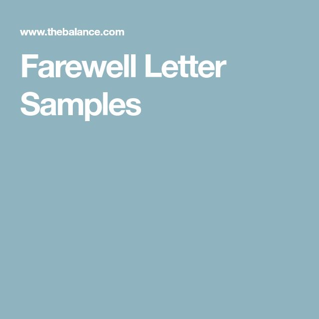 The  Best Farewell Message Sample Ideas On   Goodbye