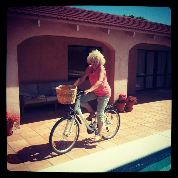 Robyn <3 bicycles