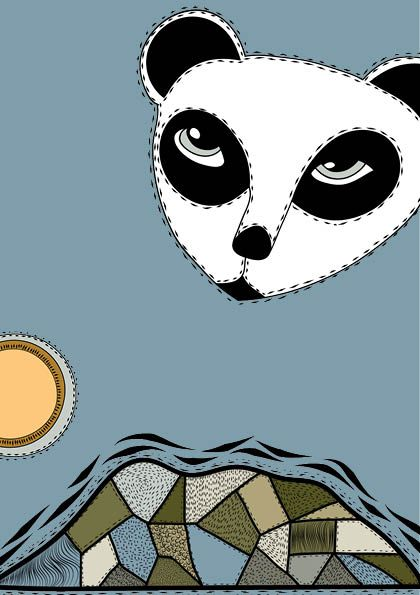 Panda - Willemijn//Art&Design