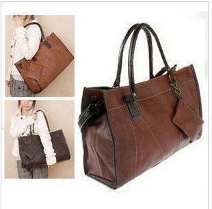 Office Lady Style Zipper Design One-Shoulder Bag/Slanting Bag For FemaleBags | RoseGal.com