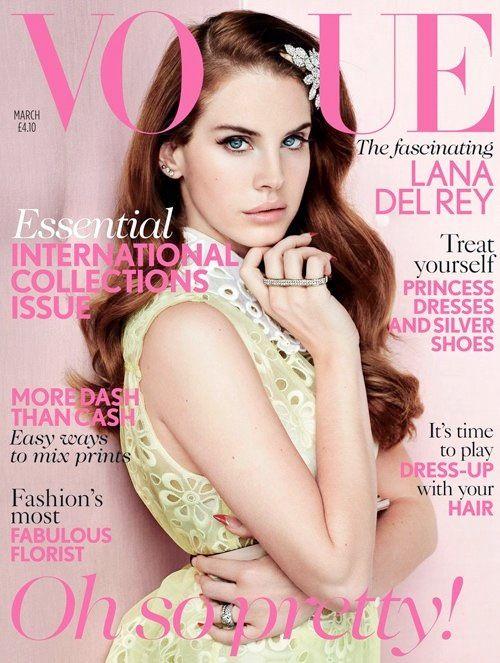 Lana Del Rey menininha na VOGUE