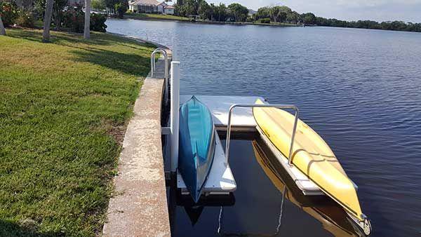 Residential Home Dock Dock Kayaking Residential