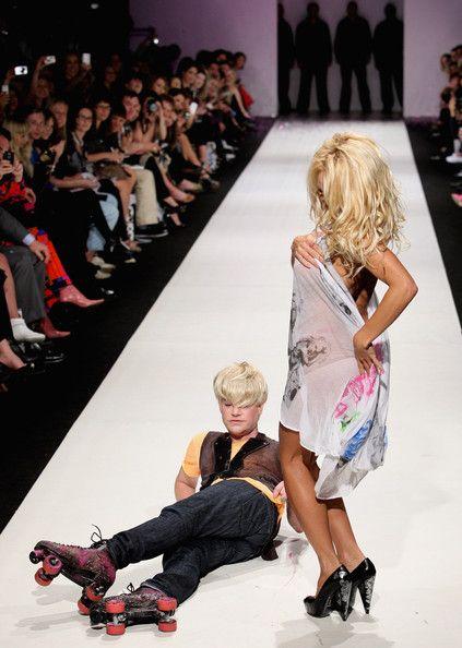 Pamela Anderson Richie Ric  Jennifer Lawrenceh Photos: Fashion Feature: Model Behavious - Thrills & Spills