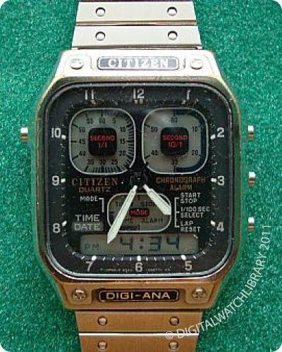 CITIZEN - DIGI-ANA - Digi-Ana - Vintage Digital Watch - Digital-Watch.com