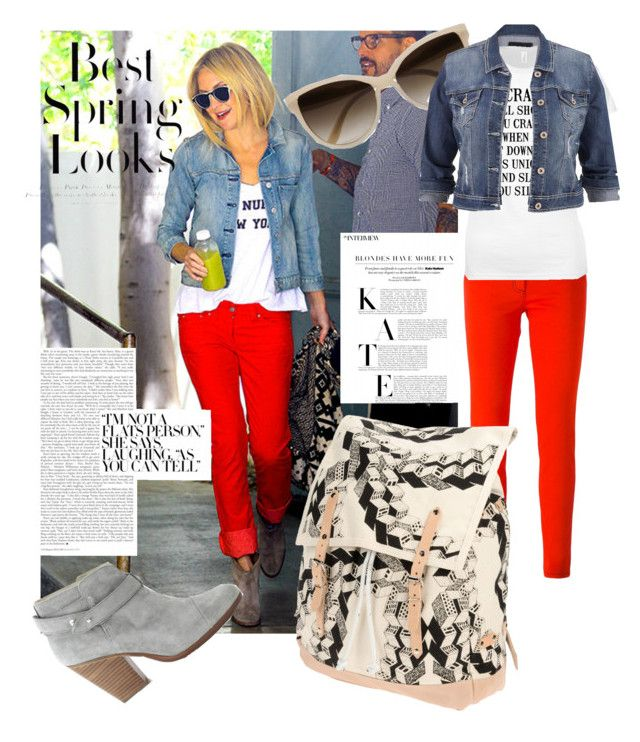 """""""StreetStyle with Kate"""" by shameera86 on Polyvore featuring Versace, STELLA McCARTNEY, maurices, rag & bone, H&M and Henrik Vibskov"""
