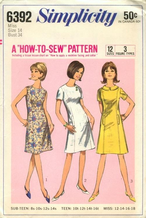 12 best 60s Fashions for Wes images on Pinterest | Patrones de ...
