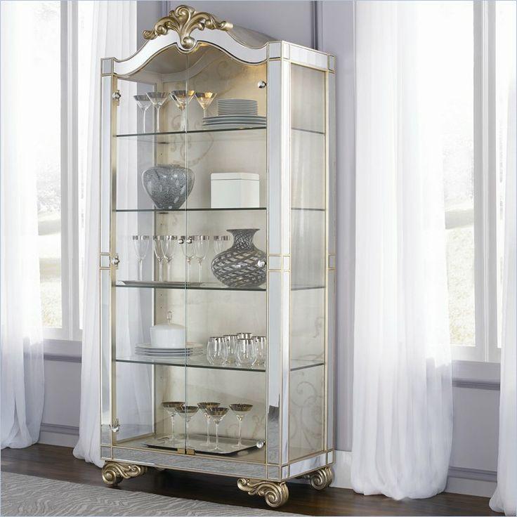 Jessica McClintock Couture Curio Cabinet by American Drew  #jessica_mcclintock #american_drew #designer #furniture