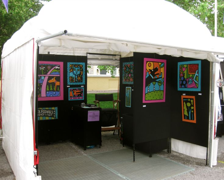 25 Best Art Booth Ideas Images On Pinterest Display