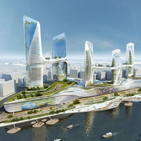 Tongzhou Central Business District by UNStudio: http://www.dezeen.com/2013/07/20/tongzhou-central-business-district-by-unstudio/