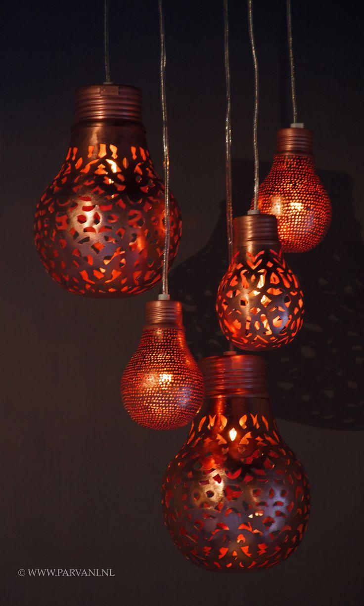 Parvani | Zenza-lampen-koper-bollen-egypte