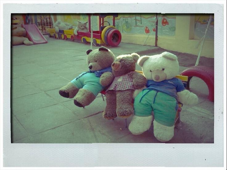 Santiago (2012)  #bear #game #play