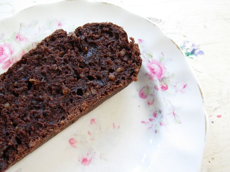 chocolate zucchini loaf with quinoa