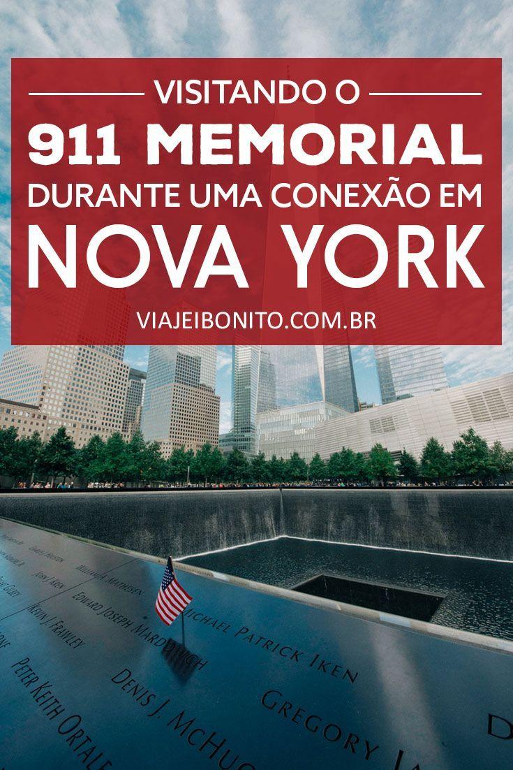 Visitando o 911 Memorial em Nova York durante uma conexão. Veja como chegar ao Memorial do 11 de setembro a partir do Aeroporto JFK de metrô. Créditos: Emanuele Bresciani / Fonte: Unsplash