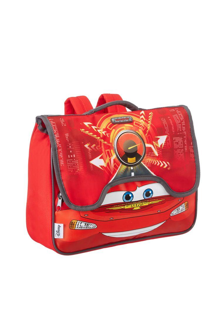 Disney Wonder - Cars Schoolbag Upright #Disney #Samsonite #Cars #Travel #Kids #School #Schoolbag #MySamsonite #ByYourSide