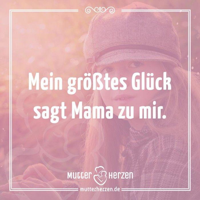 Mehr schöne Sprüche auf: www.mutterherzen.de  #kind #mama #mutterliebe…