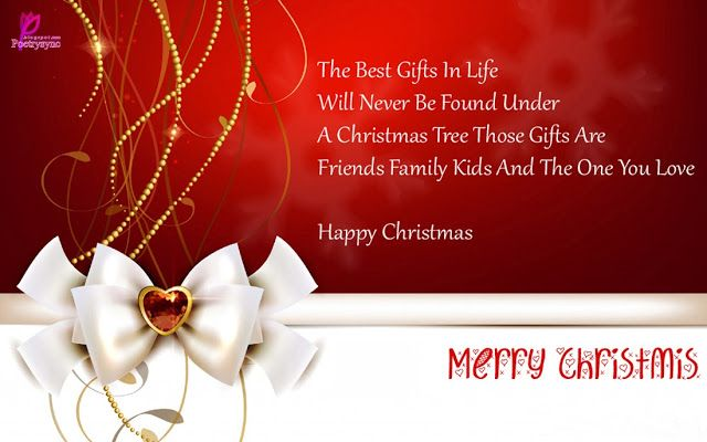Wishes Quote Card of Happy Christmas Merry Christmas Images for Facebook