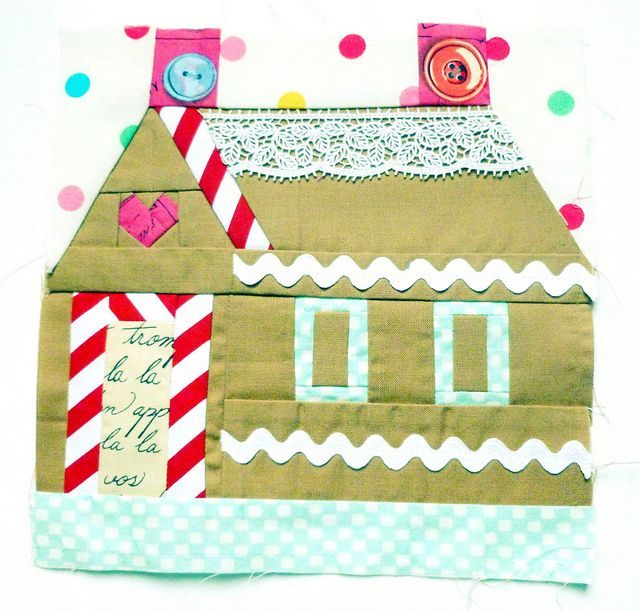 Gingerbread House Quilt Pattern Free : 1000+ ideas about Gingerbread House Patterns on Pinterest Gingerbread House Template ...